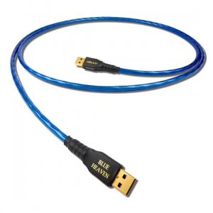 Leif Blue Heaven (1 m) – USB A 2,0 vers USB B