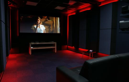 Un auditorium dédié au Home-Cinéma