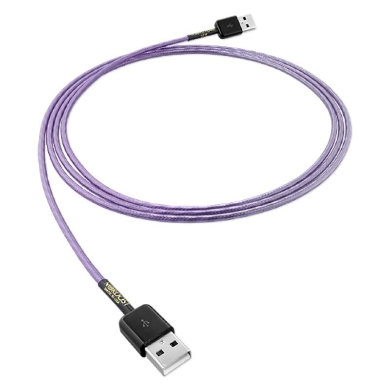 Leif Purple Flare (3 m) - USB A 2.0 vers USB A